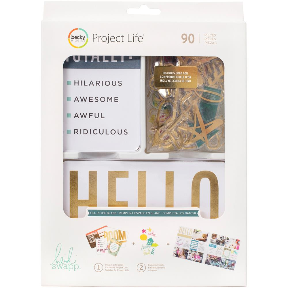 Project Life Value Kit - Fill in the Blank (by Heidi Swapp)