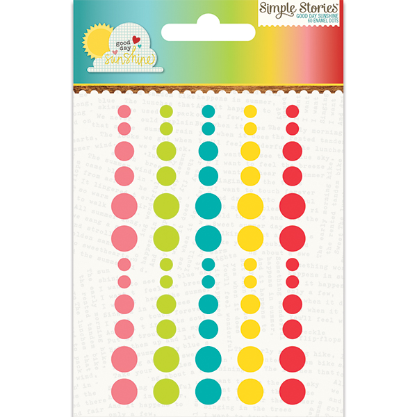 Simple Stories - Good Day Sunshine - Enamel Dots